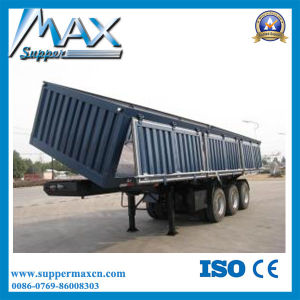 3 Axle 40-60ton Heavy Loading Side Wall Trailer pictures & photos