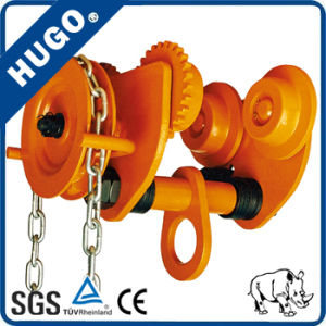 Chinese Manufacturers 1 Ton Beam Lifting Trolley/Manual Plain Trolley/Hand Trolley pictures & photos