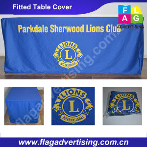 Full Color Digital Printing Polyester Table Cover