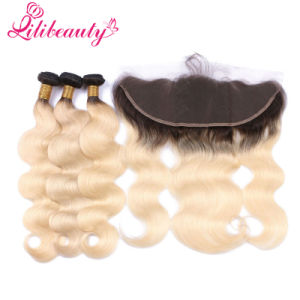 #1b/613 Blonde Frontal with Bundles pictures & photos