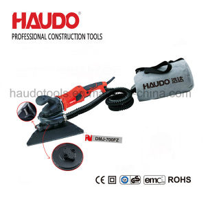 Electric Drywall Sander Tool with Two Heads and Vacuum System