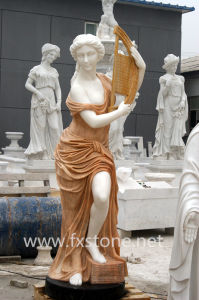 Marble Statue Marble Sculpture Stone Carving (MSDF-007) pictures & photos