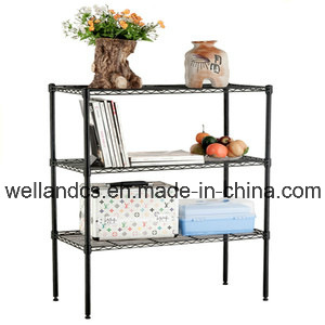 Cheap Powder Coated 120kg Metal Wire Shelving, NSF Approval pictures & photos
