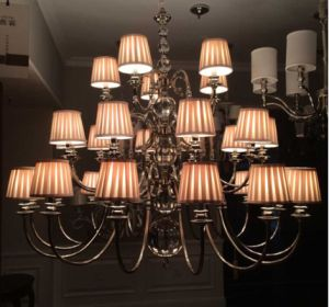 Modern Iron Pendant Chandelier Lighting for Hotel Project (SL2010-15+10+5) pictures & photos