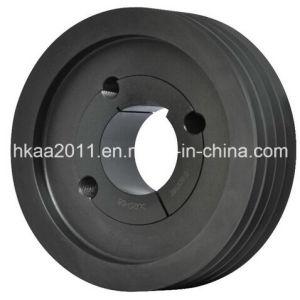 Custom Black Anodized V Belt Pulley, Taper Lock V Belt Pulley, Double V Belt Pulley pictures & photos