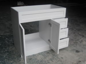 Solid Wood Bathroom Vanity with 3 Drawer Yb121 (7) pictures & photos