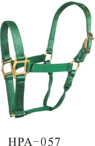 Nylon Webbing Halter for Horse Use (HPA-057) pictures & photos