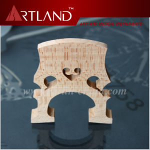 High Grade Solid Maple Wood Cello Bridge (BRC101) pictures & photos