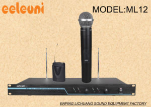VHF Dual Channels Wireless Microphone