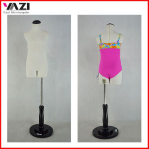 Cute Fabric Covered Child Torso Mannnequin for Swimwear Display pictures & photos