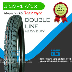Motocicle Motorcycle Tire Tyre Scooter Tire Keke Tyre Inner Tube ATV Tyre 3.00-17 pictures & photos
