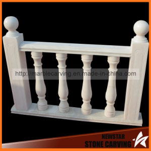 White Marble Stone Small Balcony Railing, Balcony Columns, Pillars pictures & photos
