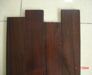 3-Layer Black Walnut Engineered Wood Flooring pictures & photos