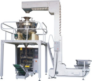 Multihead Weighing Filling Packing Machine for Granules (rice, grain, beans, wheat) pictures & photos