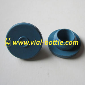 Blue Color Bottle Stopper Colorful Butyl Stopper for Glass Serum Vial pictures & photos