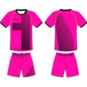 Custom Women Sublimation Soccer Uniform Jersey for Team pictures & photos