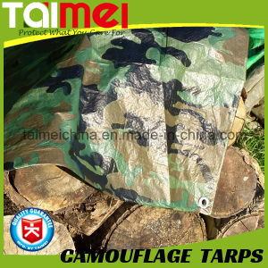 80GSM-200GSM Camo Tarps China Manufactured Waterproof Polyester Fabric pictures & photos