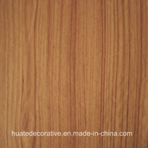 Wood Grain Decorative Melamine Paper for Plywood, MDF, Laminate Board, Teak Wood pictures & photos