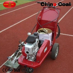 Hand-Push Thermoplastic Hot Paint Road Line Marking Machine for Sports Athlete Field Rubber Pavement pictures & photos