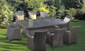 Outdoor Garden Rattan Table Chair (7122)