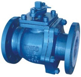 Carbon Steel Coating F46 PTFE Anti Corrosion Ball Valve pictures & photos