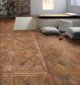 China Versaille Oak Wood Parquet Floor Mosaic Hardwood
