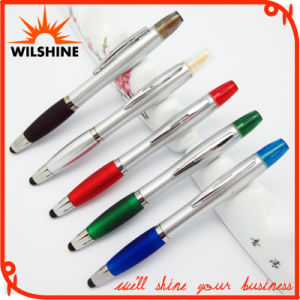 Plastic Multi Function Pen with Highlighter and Stylus (IP032) pictures & photos