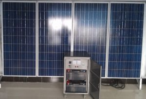 500W off Grid Solar Power Supply System Station 110-260V AC Output pictures & photos