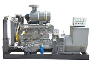 Open Type Generator, Water Cooled Diesel Generator (75KW) pictures & photos