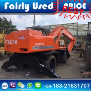 Used Hitachi Ex160wd Wheel Excavator of Hitachi Ex160wd Wheel Excavator