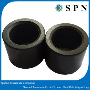 Permanent Isotropic Ferrite Dry Press Stepping Motor Magnet Rings pictures & photos