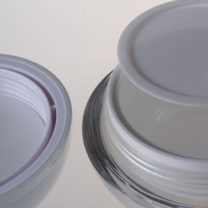 Top Selling 5g 15g 30g 50g Ball Shape Acrylic Cream Jar pictures & photos