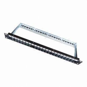 24-Port Blank Patch Panel with OEM/ODM Orders Welcomed pictures & photos