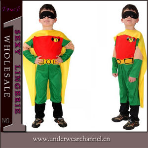 Wholesale Halloween Carnival Superman Cosplay Party Baby Kids Costume (TCQ0073) pictures & photos