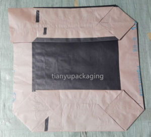 Flat Bottom Paper Valve Bag for Chemical Powder Packaging pictures & photos