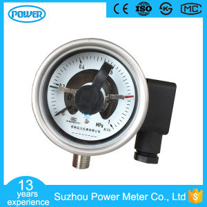 63mm Anti-Vibration Pressure Gauge with Electrical Contact Manufacturer pictures & photos