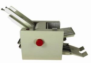 Bench Top Automatic Feeding Paper Folding Machine pictures & photos