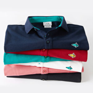 Sponsored Listing Contact Supplier 2016 New Style High Quality Short Sleeve Men Polo Shirt 100% Cotton pictures & photos