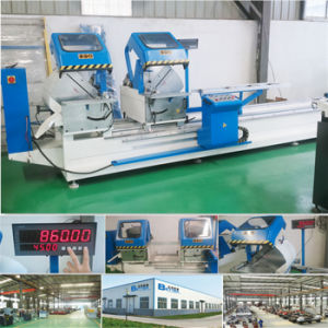 Double Head Machine for Cutting Aluminum Profile pictures & photos