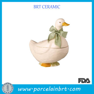 Cute Duck Ceramic Cookier Jar pictures & photos