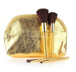 4PCS Golden Crystal Make up Kit Set