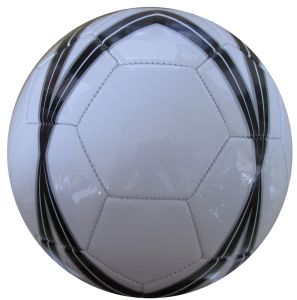 OEM Machine Sewing PVC Soccer Ball pictures & photos