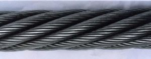 Ungalvanized and Galvanized Steel Wire Rope (6*37+iwrc) pictures & photos