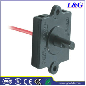 Electrical Power 5 Way Control Selector Rotary Switch with Wire