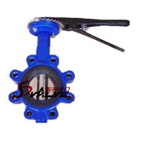 Lug Style Ductile Iron Manual Operated Butterfly Valve pictures & photos