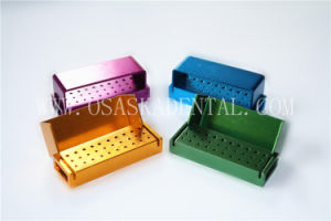 Opening Burs Disinfection Box for Endo Files Sterilization 30 Holes pictures & photos