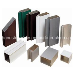 Powdered Coated Aluminum Profiles for Windows Doors and Furniture pictures & photos