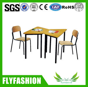 Cheap Modern Design School Double Table and Chair (SF-102S) pictures & photos
