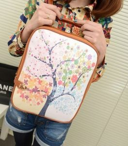 Fashion Cheap PU Leather School Bag for Children (YSBP02-0002) pictures & photos
