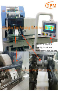 10bags Pocket Tissue Paper Napkin Packaging Machinery pictures & photos